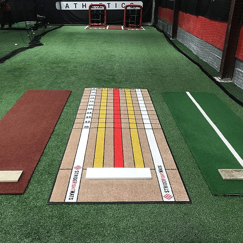 BaseballSoftball Dual Purpose Instructional Pitching Mat