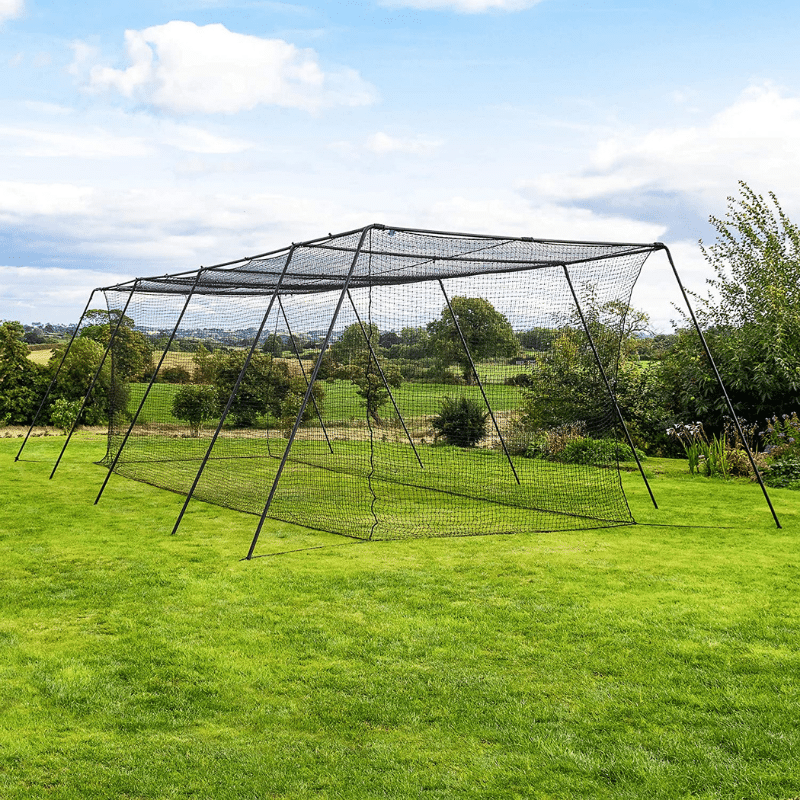 Fortress Trapezoid Baseball Batting Cage Complete Package